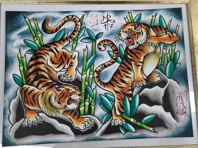 japanese tiger tattoo designs