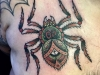 wild spider tattoo