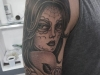 black and grey tattoo work beautiful