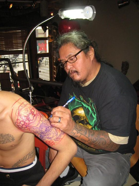 Running Bear tattoo artist
