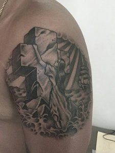 rock-of-ages-tattoo-black-and-grey