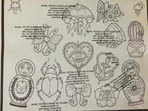 Tattoo Designs by Blu