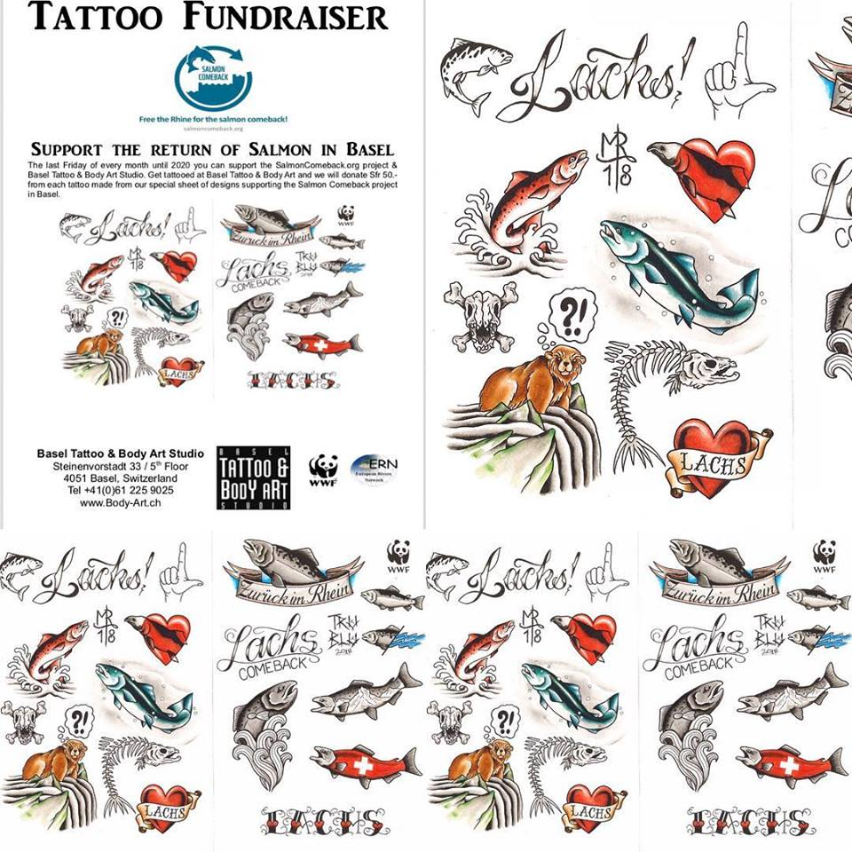Tattoo Spendeaktion | Fundraiser