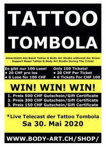 Read more about the article Bald! Soon! Tattoo Tombola