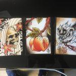 Tattoo Art Postcard Set